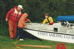 Norman-washing-safety-boat